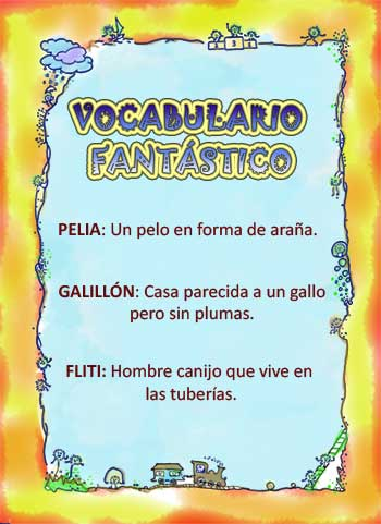 Vocabulario fantastico
